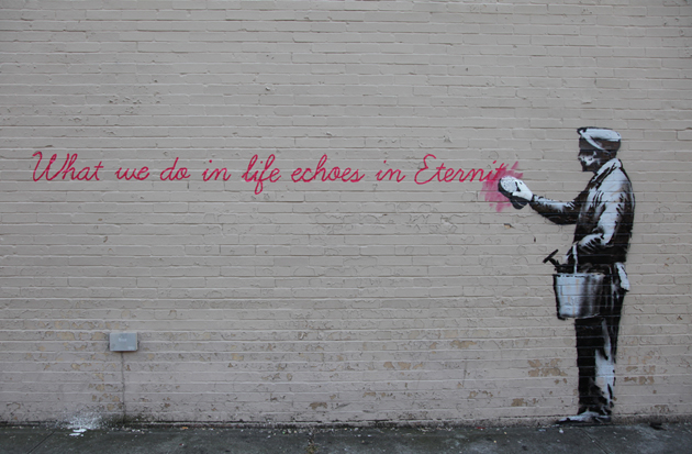 Banksy-Day-14-Gladiator-Wisdom-01